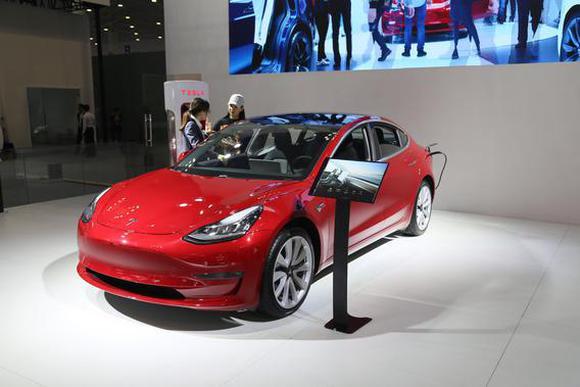 最亲民的特斯拉 Model 3出席海口车展