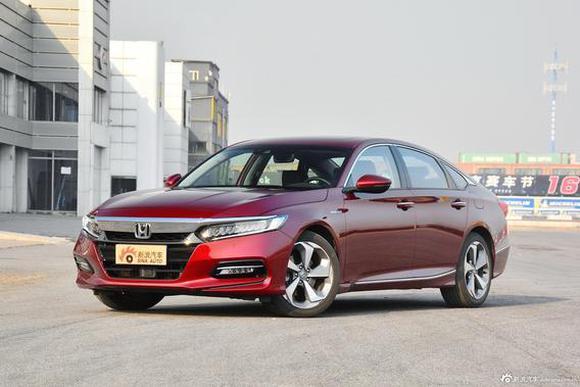 本田第十代雅阁锐·混动获2019年度混合动力车奖