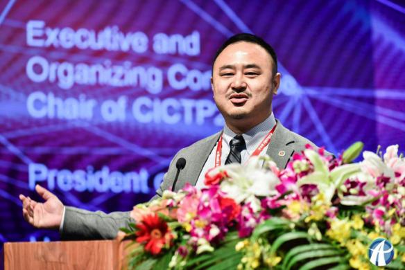 海外华人交通协会(COTA)主席张磊教授致辞
