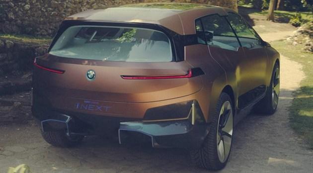 宝马集团公布新一代技术旗舰车型—Vision iNEXT