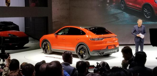 2019上海�展:保�r捷Cayenne Coupe/新一代911首�l 汽�殿堂