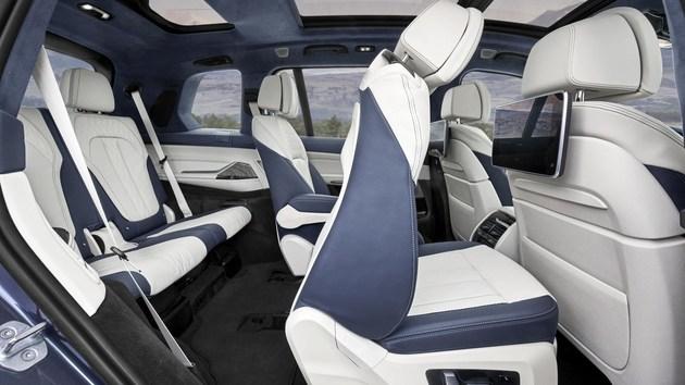 宝马X7实车曝光 将于2018洛杉矶车展全球首发