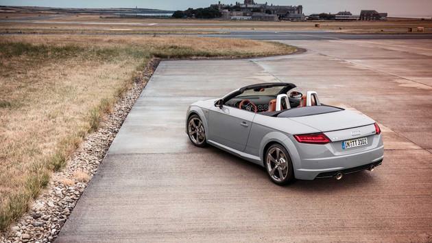 奥迪TT推出20周年纪念款车型 全球限量发售