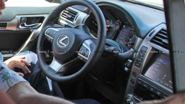 国际版雷克萨斯GX改款车型谍照暴光