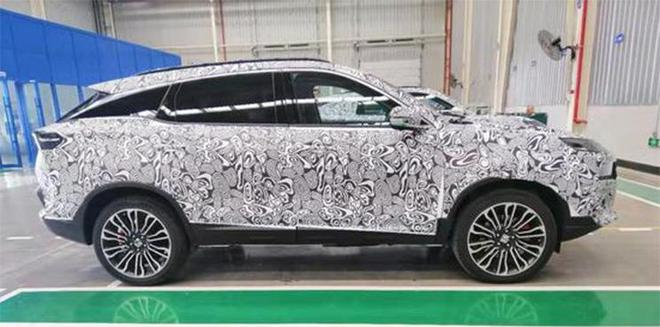 猎豹全新SUV谍照曝光 造型设计十分个性