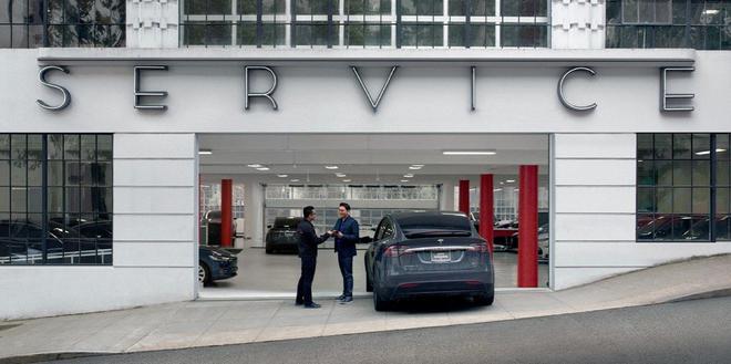 维修时长过长遭用户抱怨 特斯拉在服务中心开设车身维修店