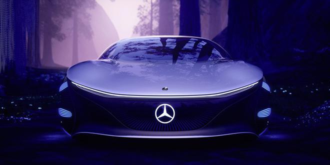 2020CES:奔驰Vision AVTR概念车亮相 设计灵感来自《阿凡达》