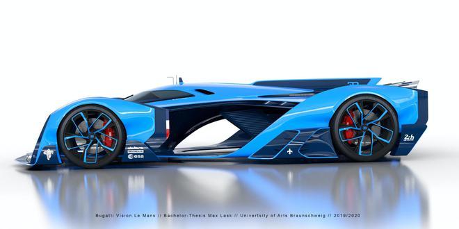 传布加迪10月发布首款纯电动超跑赛车 借用Rimac电动动力总成