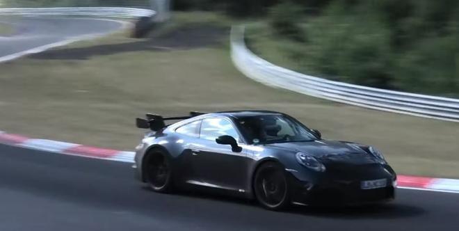 全新保时捷911 GT3谍照曝光 2020年发布
