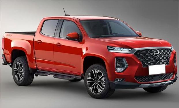 现代全新皮卡搭3.0T六缸柴油发动机 或年底亮相