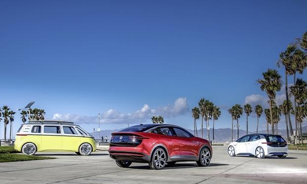 大众计划第一阶段量产1000万辆电动车