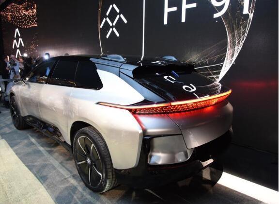 Faraday Future FF 91内饰官图发布