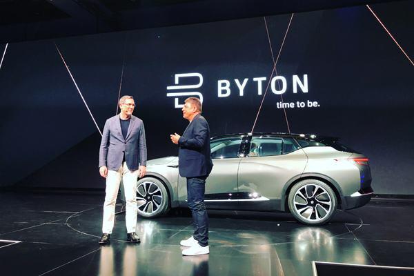 本田、雷诺两工程师加入拜腾 造车进程加速