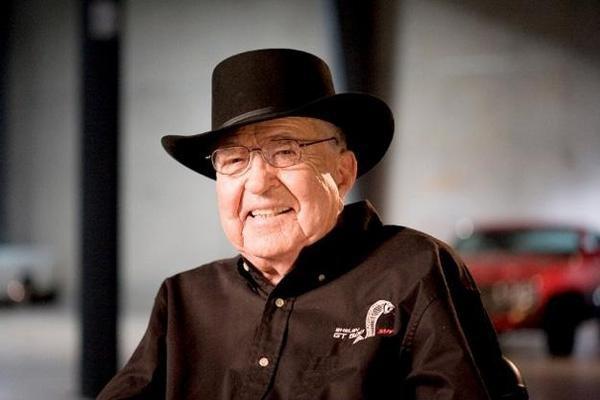 晚年的卡罗尔·谢尔比,逝于2012年
