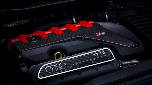 奥迪新款TT RS官图 日内瓦车展首发