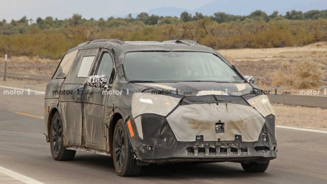年底亮相 2021款丰田Sienna将使用混合动力