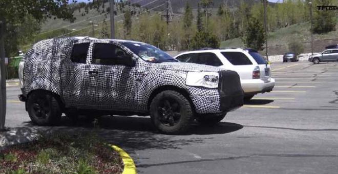 福特Bronco Raptor或搭V8发动机