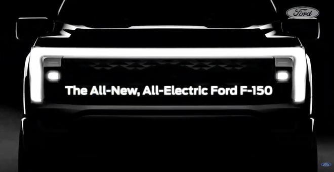 全新福特F-150皮卡电动版2022年投产 双电机提供最强性能表现