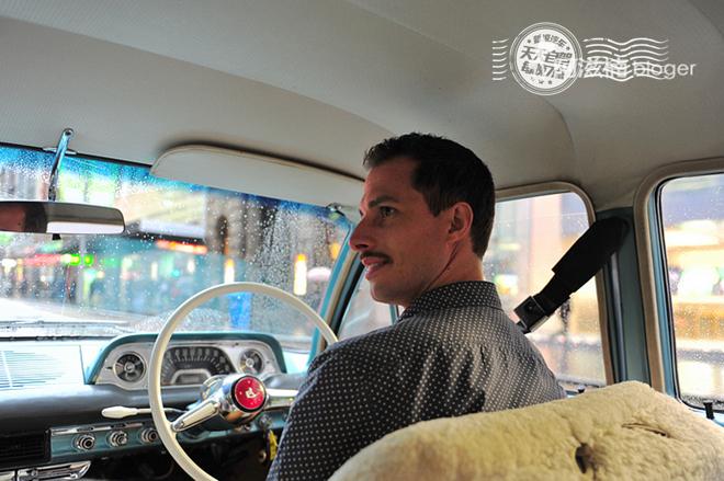 自驾 气质美女与霍顿老爷车的一次亲密接触_车猫网