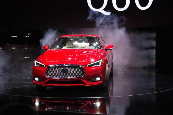新英菲尼迪Q60北美国际车展全球首发
