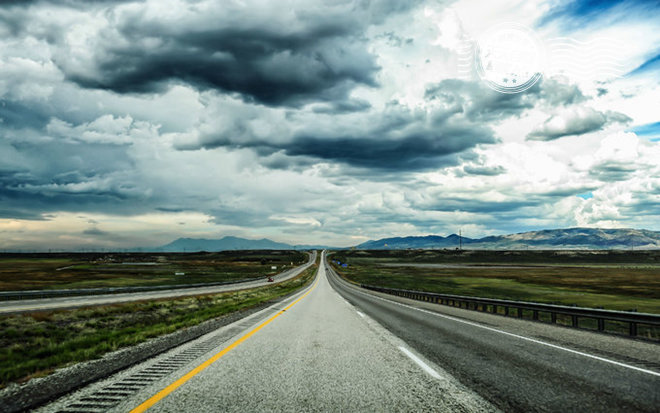 西部的公路