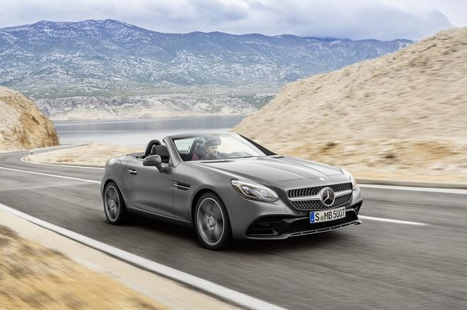 新款奔驰SLC德国售价公布 34926欧元起