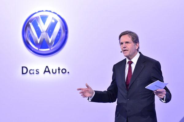 大众汽车集团(中国)总裁兼CEO海兹曼