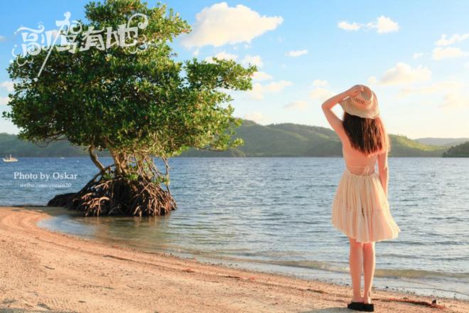菲律宾海岛岛纯美游听说科隆与美女更配哦美女防长图片