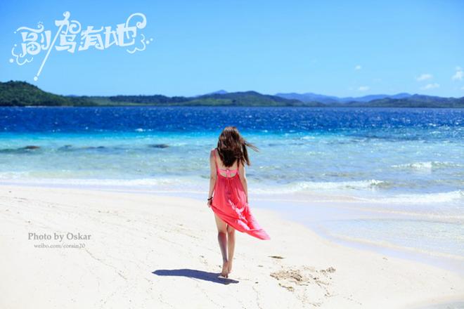 菲律宾科隆岛纯美游听说海岛与美女更配哦电闪雷鸣在帅哥美女图片