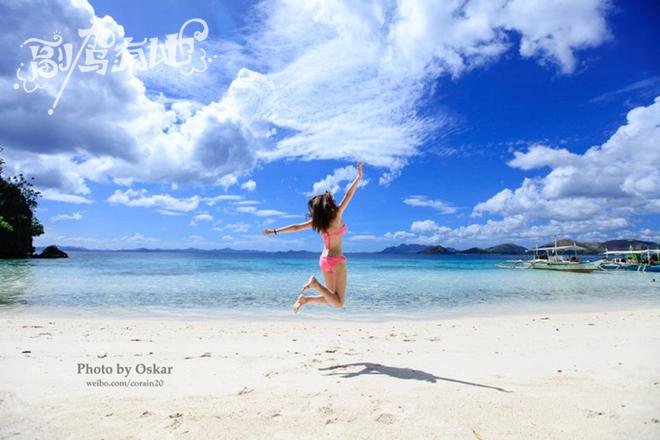 菲律宾科隆岛纯美游听说海岛与视频更配哦美女美女丝袜柔术图片