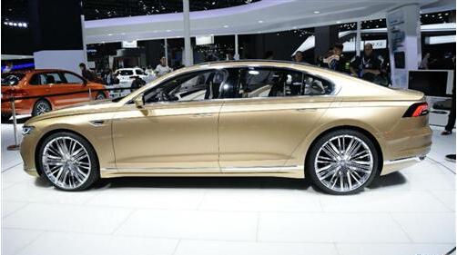 专为中国开发的新车可能是上汽大众C级车,概念车为C-Coupe GTE