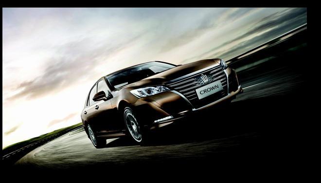 不只气质 全新皇冠拼的是科技 新浪汽车高清图片