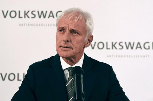 大众首席执行官穆勒(Matthias Müller)