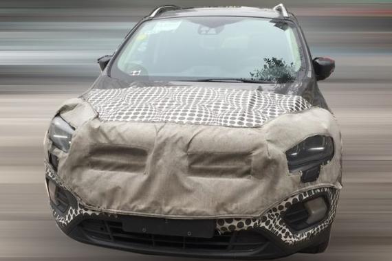 延续海外版车型设计 国产新款翼虎谍照