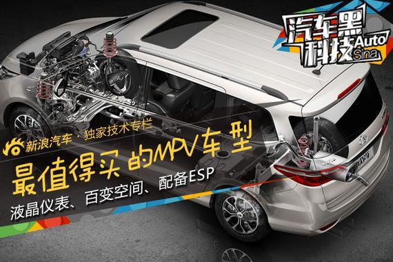 汽车黑科技35 长安欧尚是最值得买的MPV
