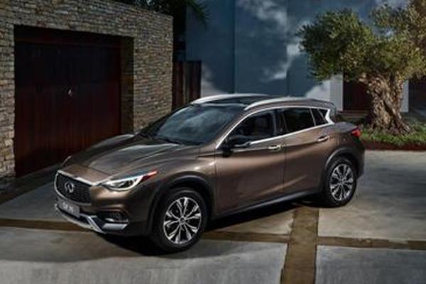 英菲尼迪今年投放6款新车 紧凑SUV牵头