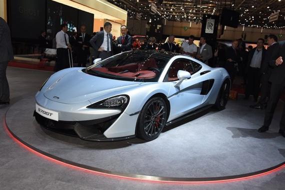 或北京车展亮相 迈凯伦570GT售273.1万
