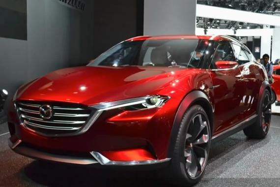 视频:轿跑级SUV!创新而动马自达CX-4