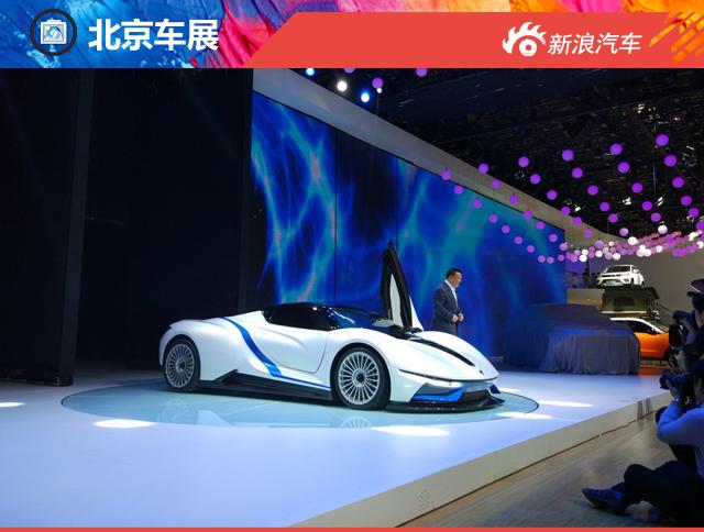 北汽新能源ARCFOX-7北京车展亮相