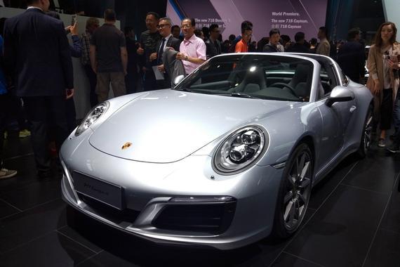 保时捷911 Targa 4北京车展国内首发