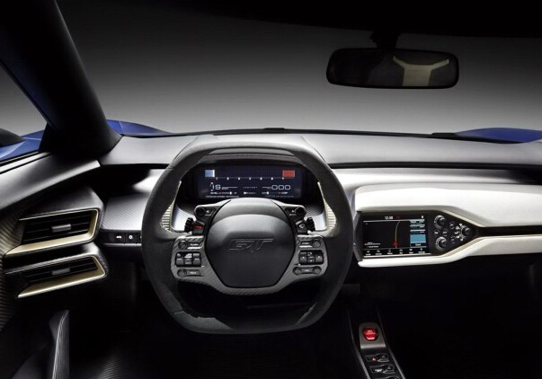 福特GT量产版正式发布 预计17年投产