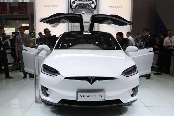 视频:北京车展热点新车特斯拉Model X