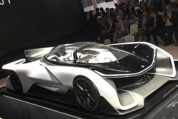 视频:豪车超跑之法拉第未来FFZERO1