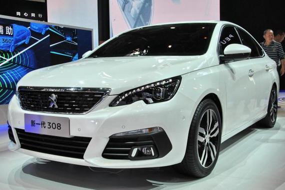 视频:北京车展热点新车之标致全新308