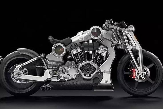80万买辆3D打印摩托车 你是否下得了手?