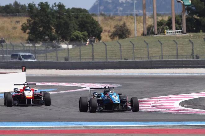 竞争激烈收获经验 梁嘉彤战欧洲F3公开赛