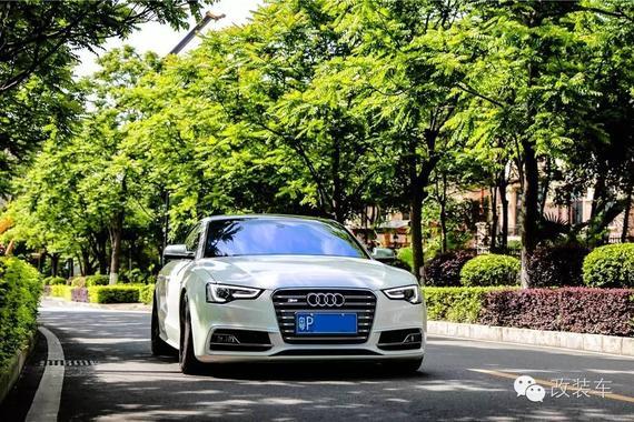 优雅身姿 广东车友奥迪S5改装案例