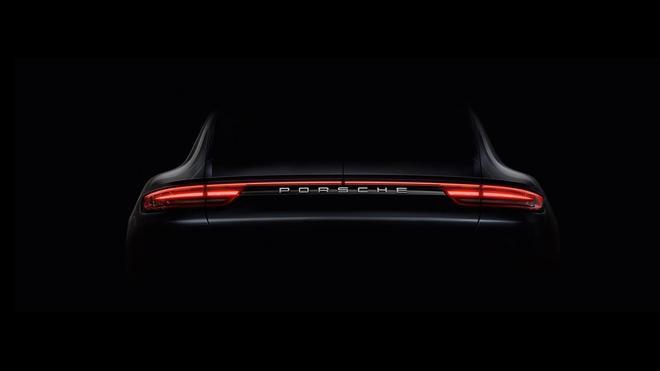 保时捷新一代Panamera预告图