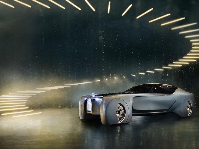 未来的豪华 劳斯莱斯Vision Next 100发布