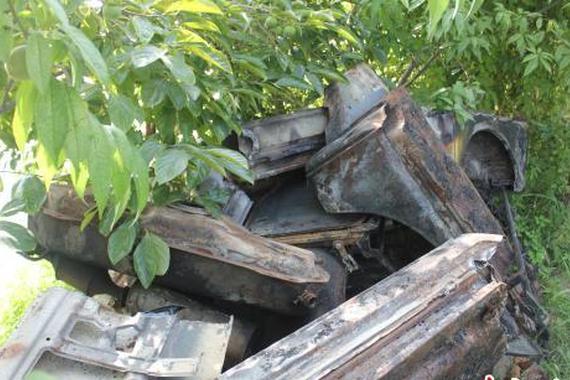 徐州一女孩被撞身亡 肇事逃逸者将车辆焚烧切割